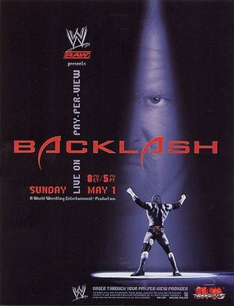 WWE Backlash 2005 Poster