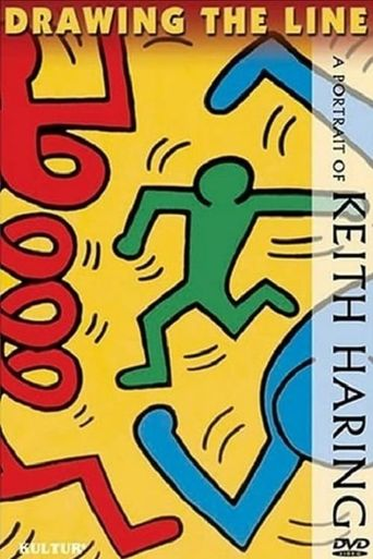 Drawing the Line: A Portrait of Keith Haring Poster