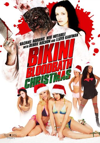 Bikini Bloodbath Christmas Poster