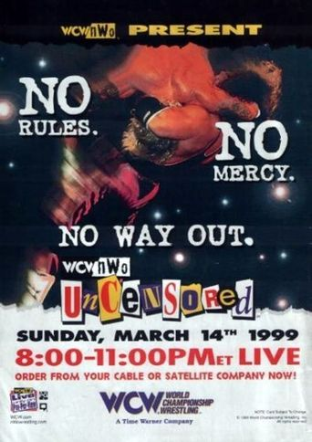 WCW Uncensored 1999 Poster