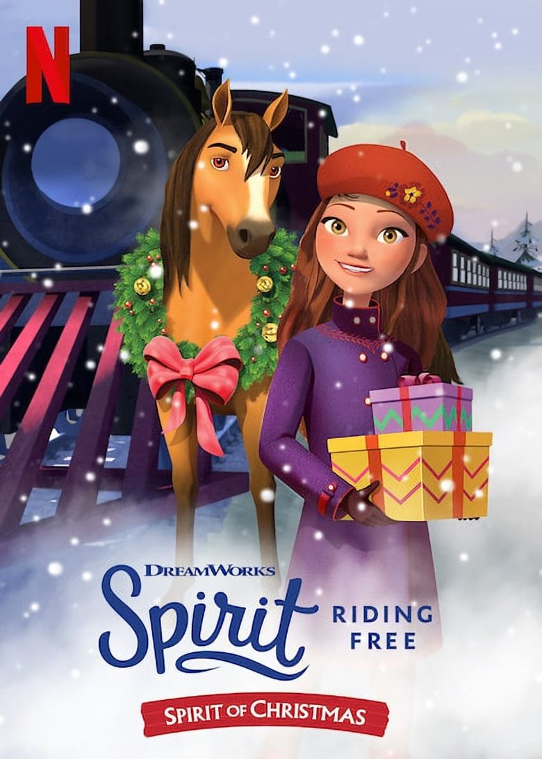 Spirit Riding Free: Spirit of Christmas Poster