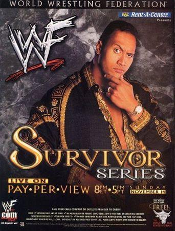 WWE Survivor Series 1999 Poster