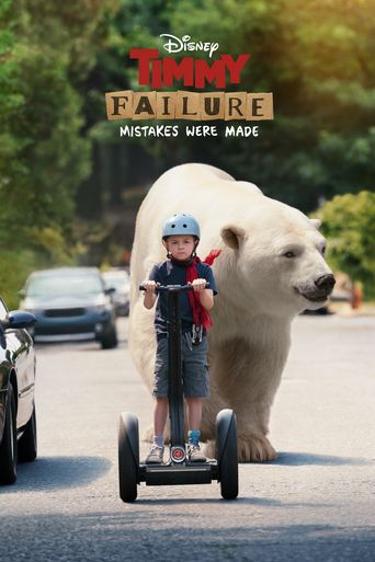 Timmy Failure: Mistakes Were Made Poster