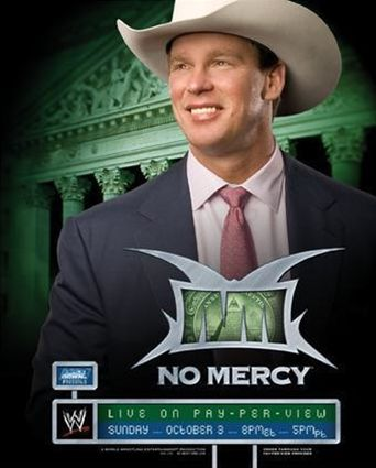 WWE No Mercy 2004 Poster
