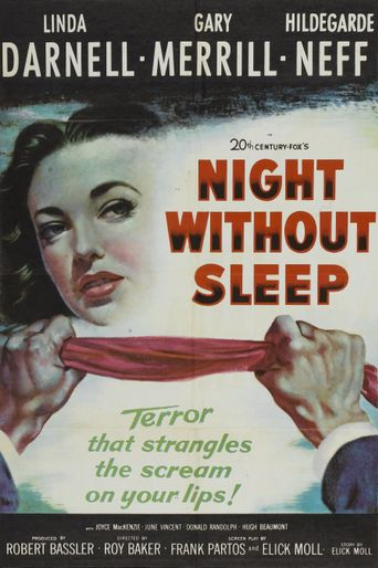 Night Without Sleep Poster