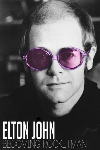 Elton John becoming rocketman Poster