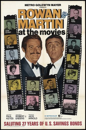 Rowan & Martin At the Movies Poster