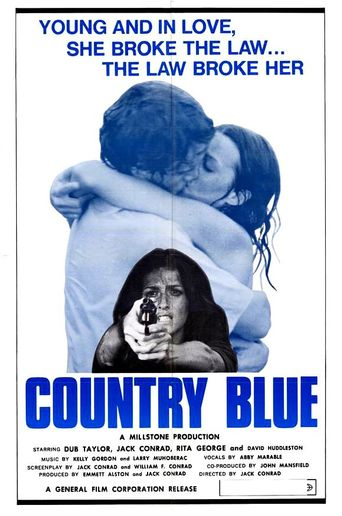 Country Blue Poster