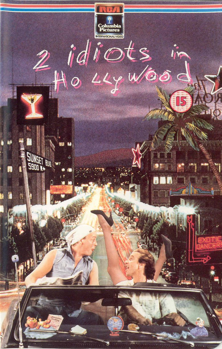 Two Idiots in Hollywood Poster