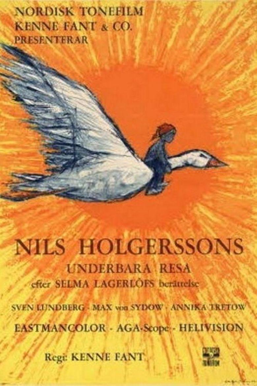 Wonderful Adventures of Nils Poster