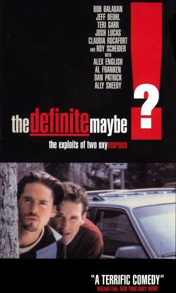 The Definite Maybe Poster