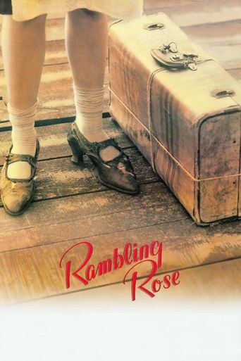 Rambling Rose Poster