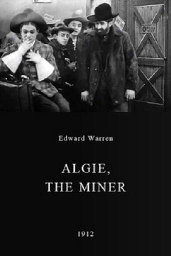 Algie, the Miner Poster