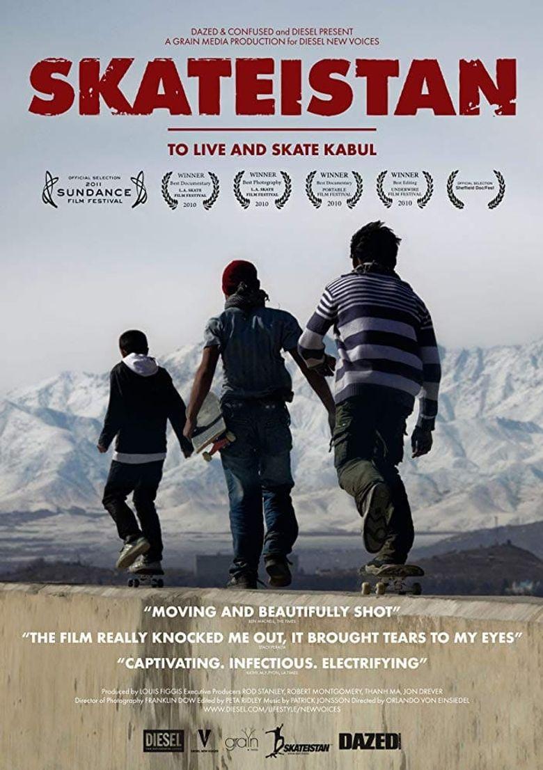 Skateistan: To Live and Skate Kabul Poster