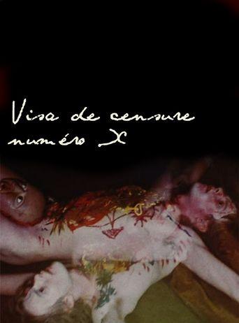Visa de censure n° X Poster