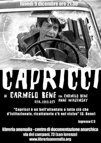 Capricci Poster