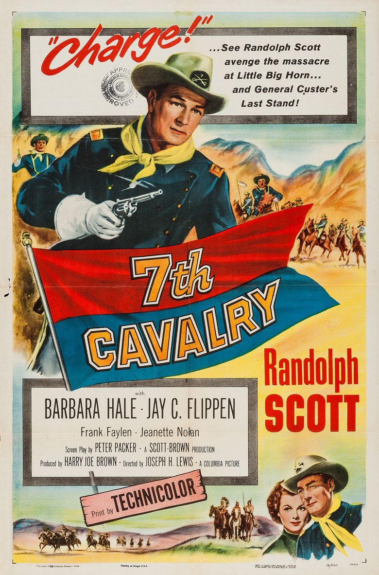 7th Cavalry Poster