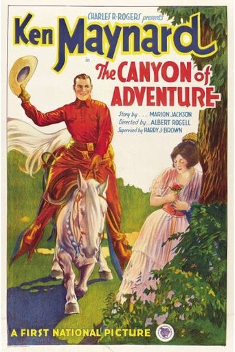 The Canyon of Adventure Poster