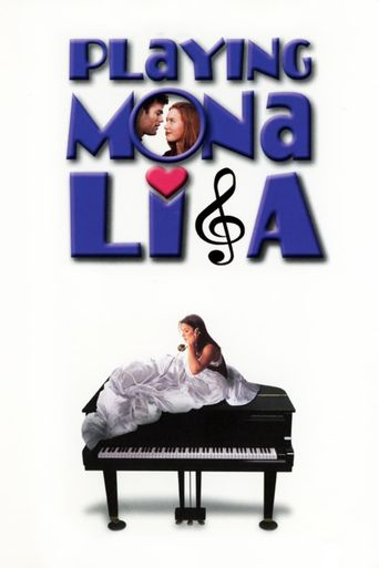 Playing Mona Lisa Poster
