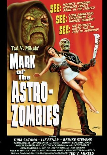 Mark of the Astro-Zombies Poster
