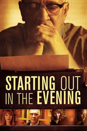 Starting Out in the Evening Poster