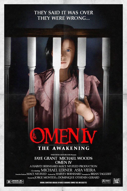 Omen IV: The Awakening Poster