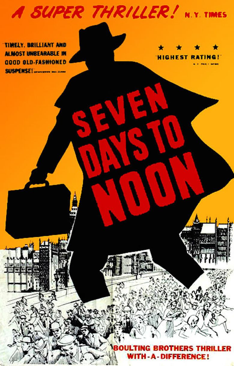 Seven Days to Noon Poster