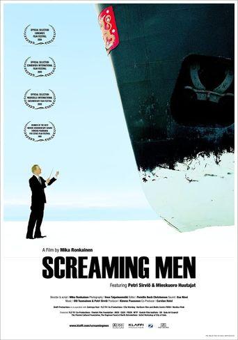 Screaming Men Poster