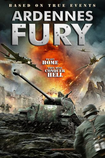 Ardennes Fury Poster