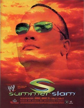 WWE SummerSlam 2002 Poster