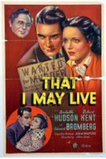 That I May Live Poster