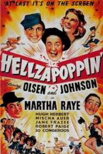 Hellzapoppin' Poster
