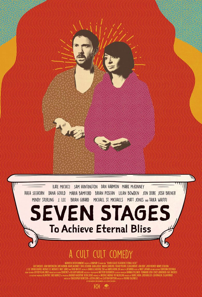 Seven Stages to Achieve Eternal Bliss Poster
