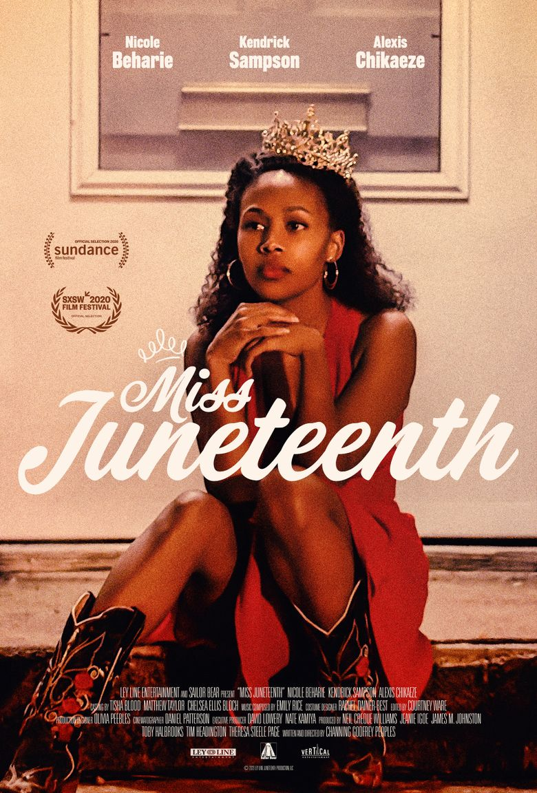 Miss Juneteenth Poster
