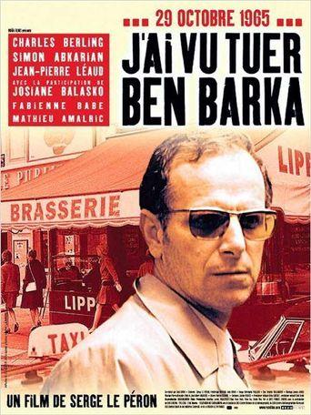 I Saw Ben Barka Get Killed Poster