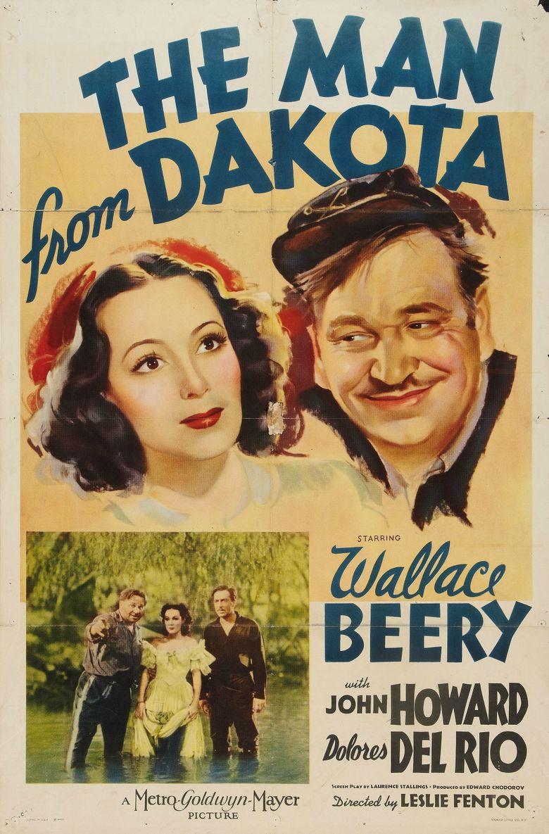 The Man from Dakota Poster