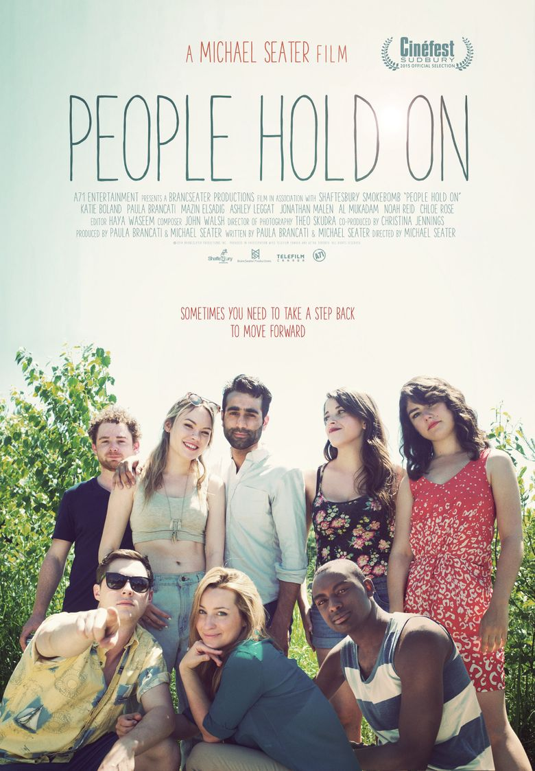 People Hold On Poster