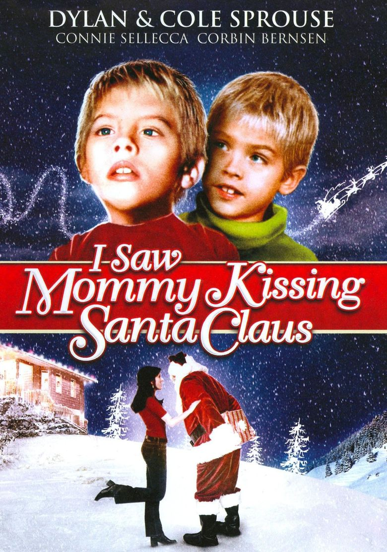 I Saw Mommy Kissing Santa Claus Poster