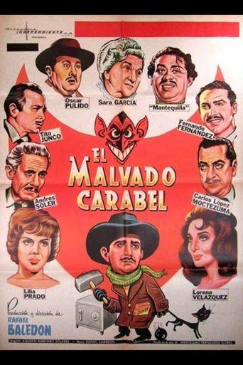 El malvado Carabel Poster