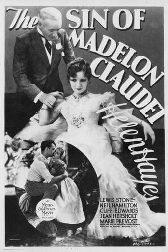 The Sin of Madelon Claudet Poster