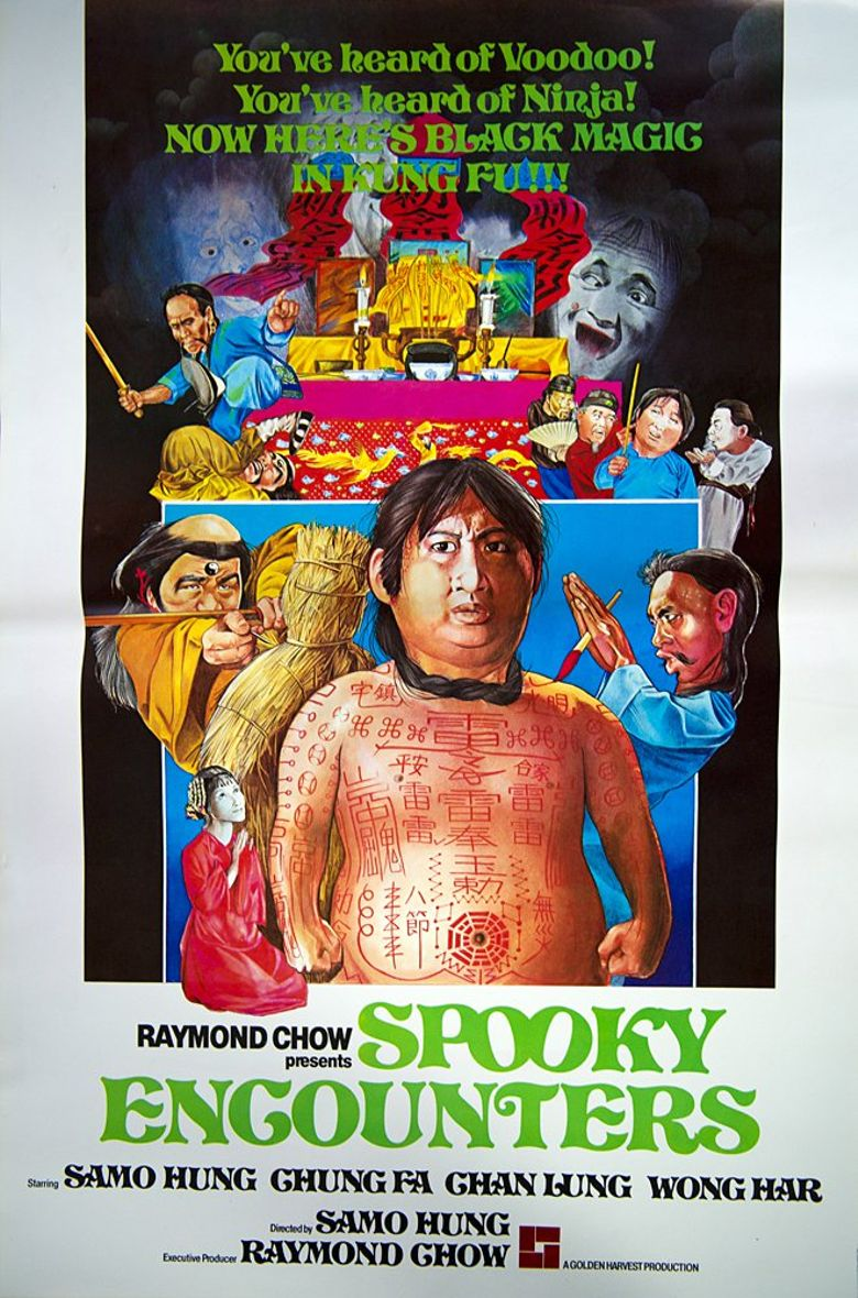 Encounters of the Spooky Kind Poster