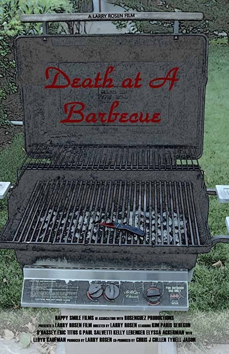 Death at a Barbecue Poster