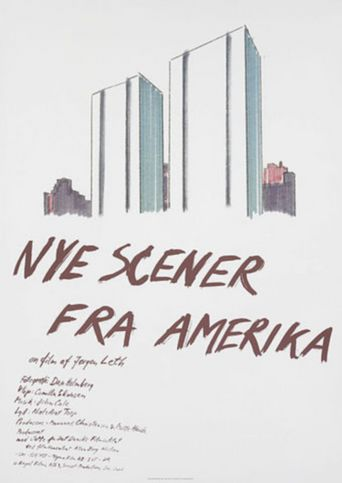 New Scenes from America Poster