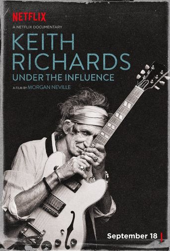 Keith Richards: Under the Influence Poster