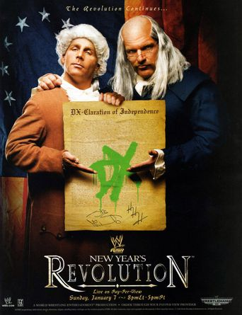 WWE New Year's Revolution 2007 Poster