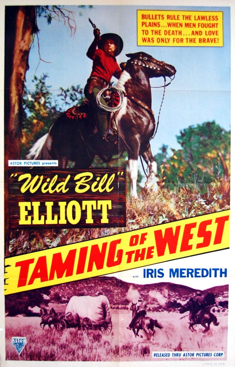 The Taming of the West Poster
