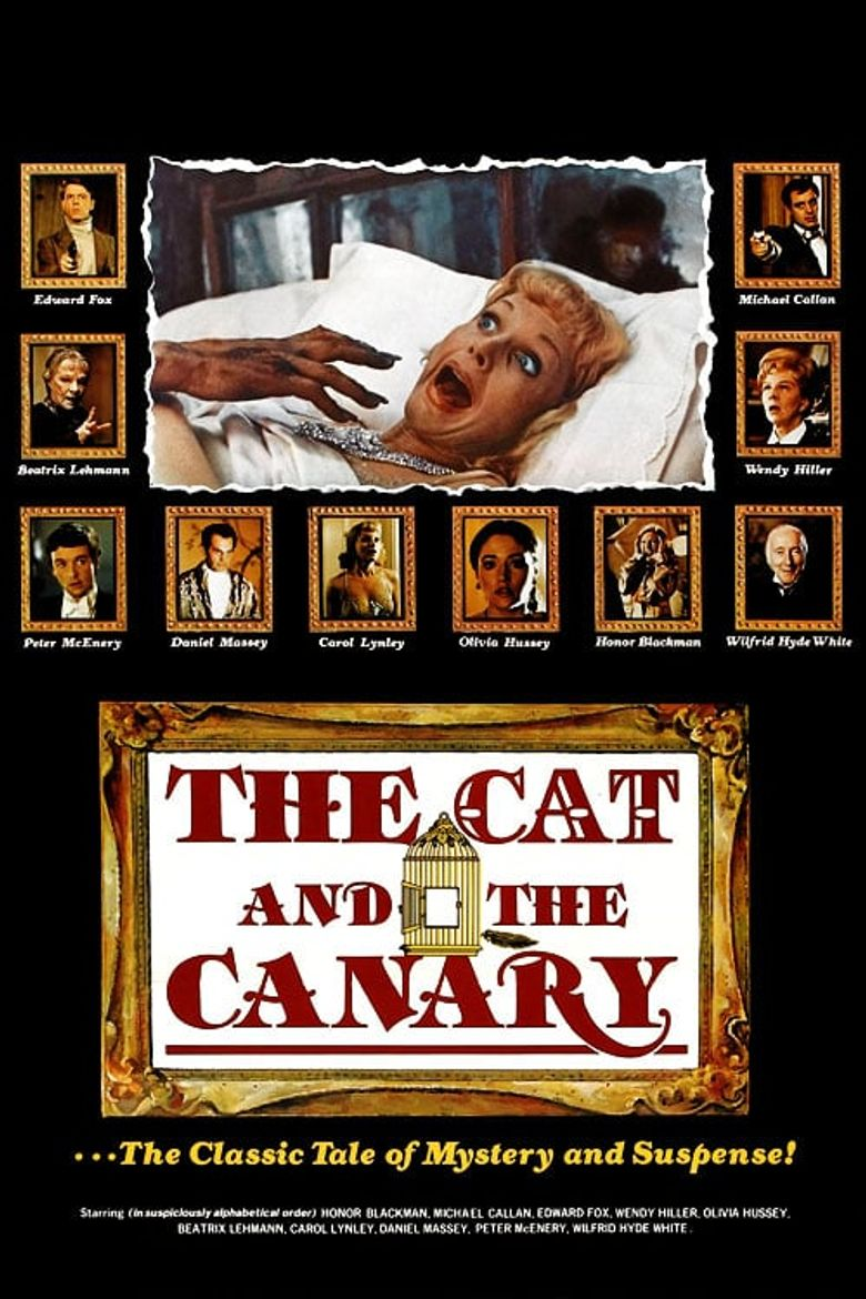The Cat and the Canary Poster