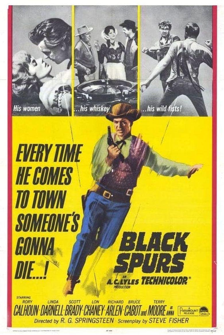 Black Spurs Poster