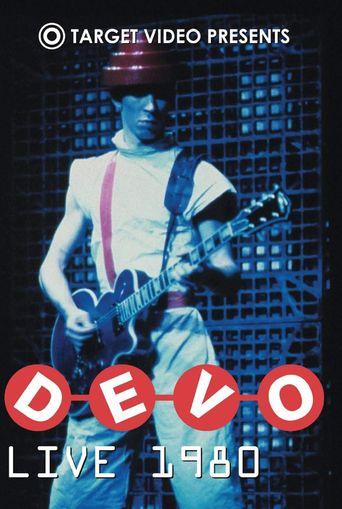 Devo Live 1980 Poster