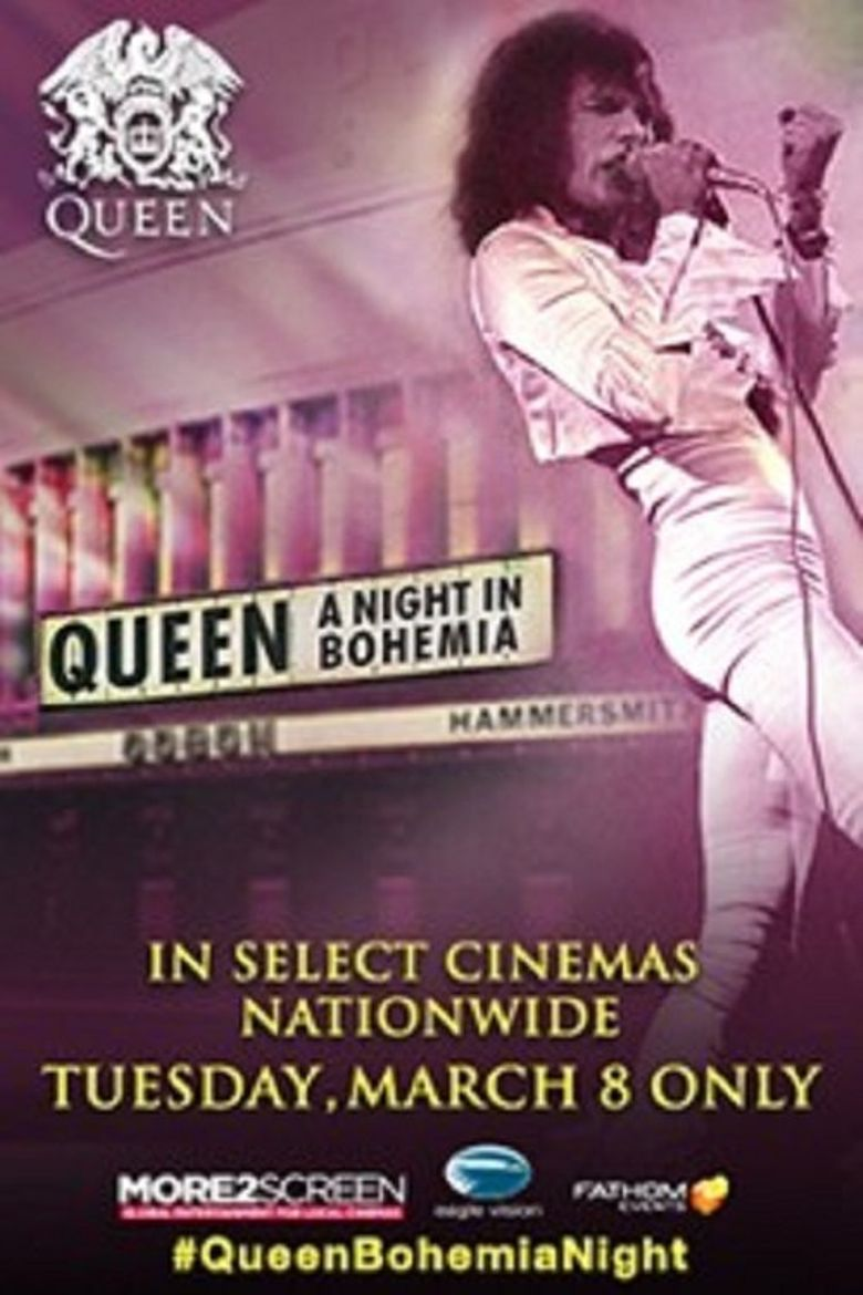 Queen: A Night in Bohemia Poster